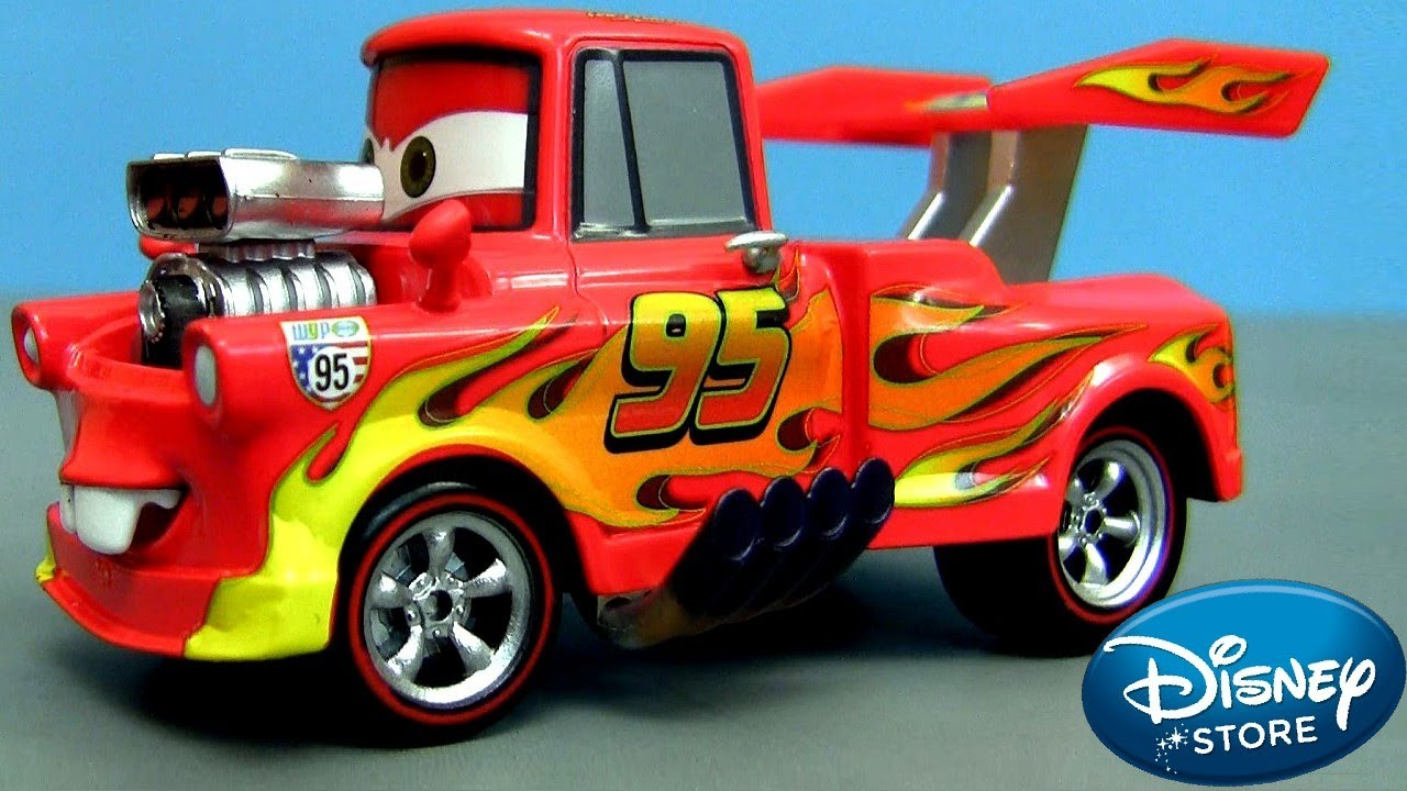 Disney Cars Toys Youtube: Cars 2 Toy Lightning Mater Disney Chase Diecast Collector