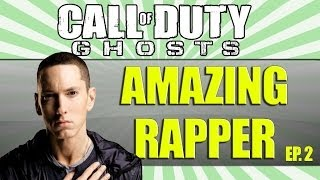 AMAZING RAPPER ON COD GHOSTS! Part 2
