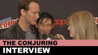 The Conjuring 2013 Interview James Wan Talks Ed And