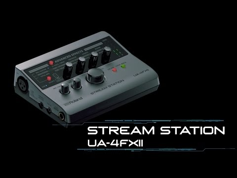Roland UA-4FX2 Stream Station USB Webcasting Audio Interface