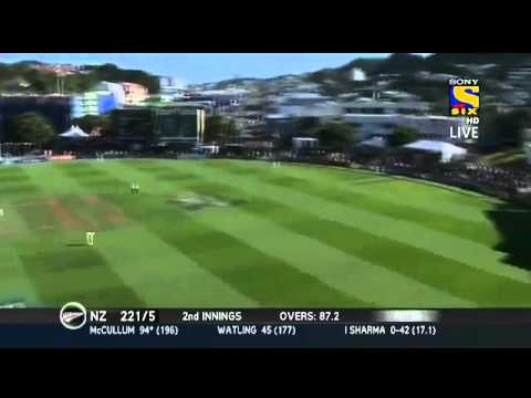 Brendon McCullum Rape Dhoni Indian team Ordinary Bowlers with Double Hundred