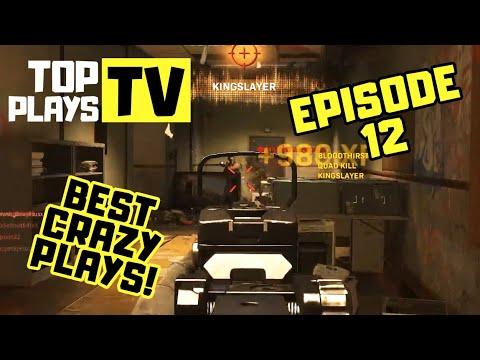 COD Modern Warfare Top Plays! Best Crazy & WTF Plays Episode 12