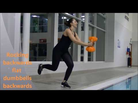 Aqua Aerobics - Aqua Sphere Dumbbell Workout
