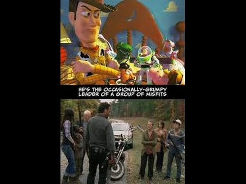 Cartoon Conspiracy - Walking Dead Is Made From The Ideas Of Toy Story