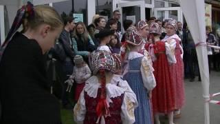 Detský folklórny súbor Radosť z Bystrice šíri radosť, tanec a spev v zahraničí