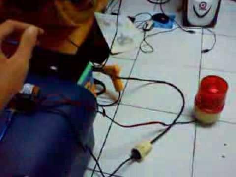 Alarm PIR Sensor relay