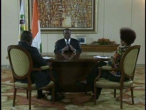 Interview du chef de l'état SEM Alassane Ouattara du 07 Août 2013