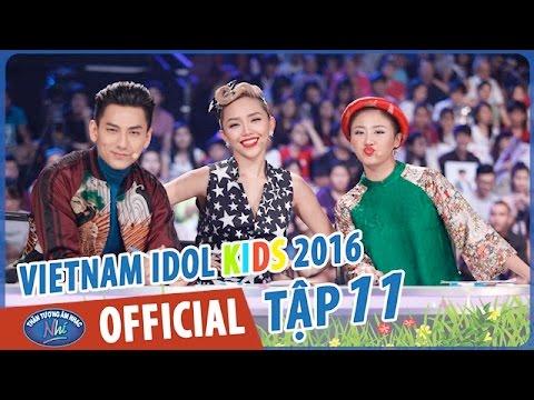 VIETNAM IDOL KIDS - THẦN TƯỢNG ÂM NHẠC NHÍ 2016 - GALA 5 - FULL HD
