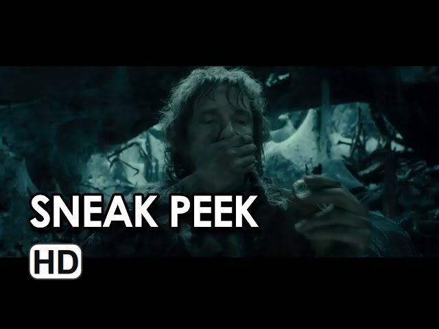 The Hobbit: The Desolation of Smaug - Sneak Peek HD