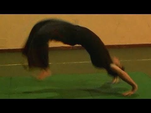 ACROBATICA - Kip up lanciata (ekip - alzata ninja) tutorial