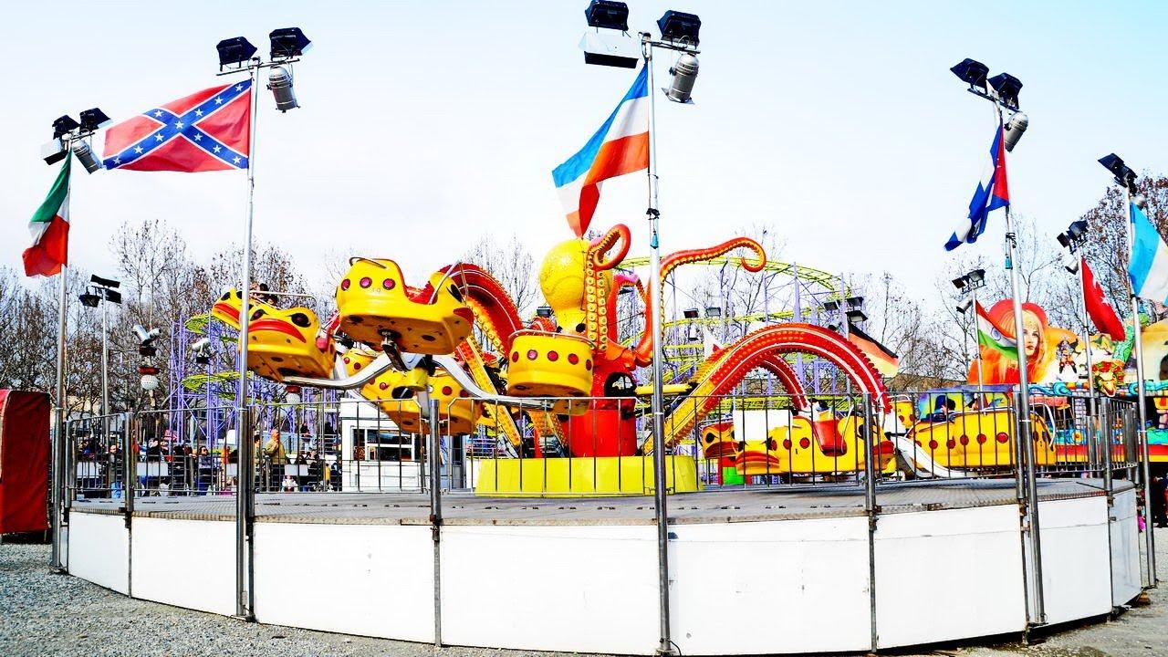 Luna park giostre alla pellerina a torino net youtube for Giostre luna park usate