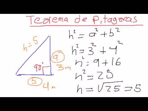 Teorema de pitagoras seno coseno