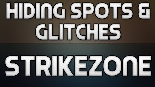 Hiding Spots + Glitches On Strikezone! (Call Of Duty: Ghosts)