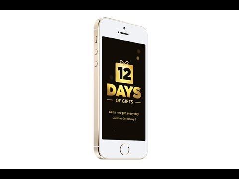 12 Days of Gifts App Explained!!