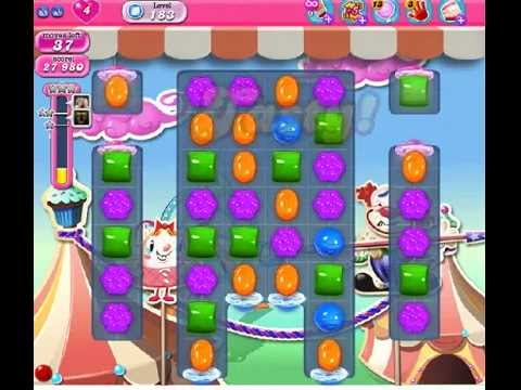 How to beat Candy Crush Saga Level 183 - 1 Stars - No Boosters - 105