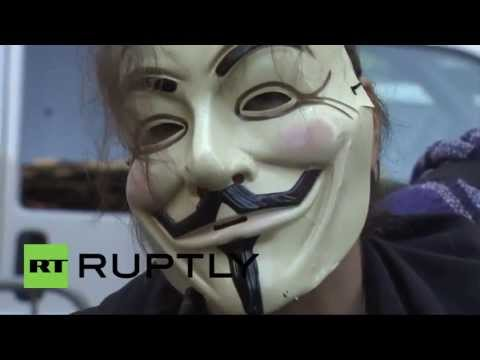 USA: Occupy Wall Street protests return to Zuccotti Park