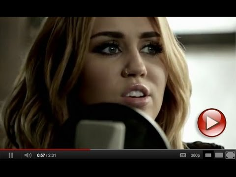 "Miley Cyrus - ""You're Gonna Make Me Lonesome When You Go"" -I2wvaWTTmz8"
