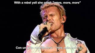 Billy Idol - Rebel Yell - Sub Español ingles.avi view on youtube.com tube online.