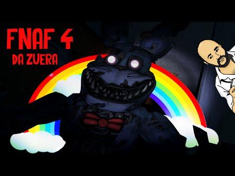 FNAF 4 DA ZUERA - SAI DO ARMÁRIO FOXY!!! (NOITE 1/2)