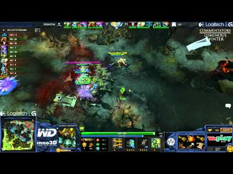 Alliance vs Dignitas - Game 3 (WePlay.TV - Playoffs)