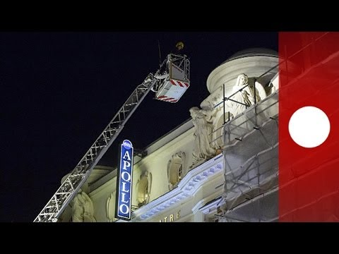London theatre roof collapse: Investigation begins