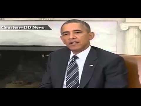 PM Dr Manmohan Singh meets US President Mr Obama
