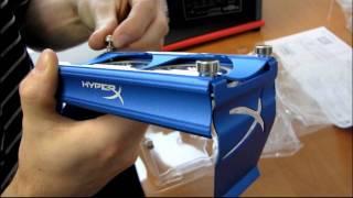 Kingston HyperX Blue LED Aluminum Dual 60mm RAM Fan