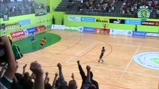 Futsal playoff 1/4 (jogo2) - Sporting - 8 x Modicus - 0  12/13 Resumo