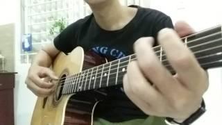 solo guitar Tháng tư là lời nói dối của em