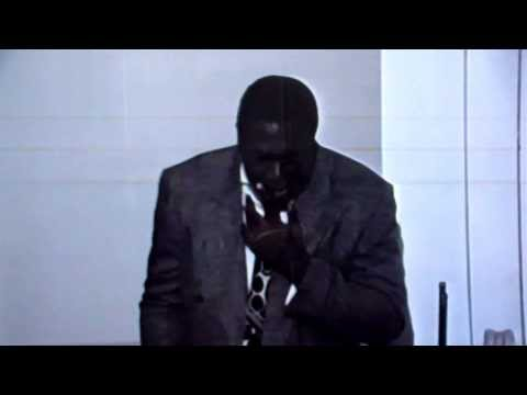 Vintage Classic Bishop Wayne Bynum at age 21 in 1989 preaching