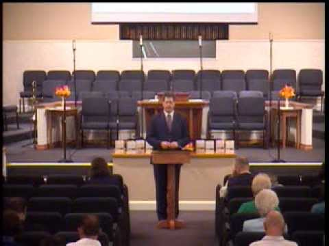 Berea Baptist Church - October 20, 2013 - Set Apart for the Gospel of God (series)