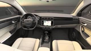 Interior Qoros 3 Sedan