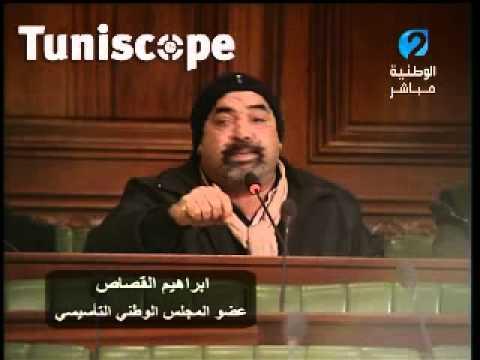 image vidéo ابراهيم القصاص يعربد في التأسيسي ويهاجم وزير التجهيز