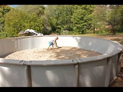 Above ground pool installation video by above beyond for Above ground pool installation