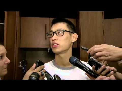 Jeremy Lin 2013.11.16 PostGame Rockets vs. Nuggets