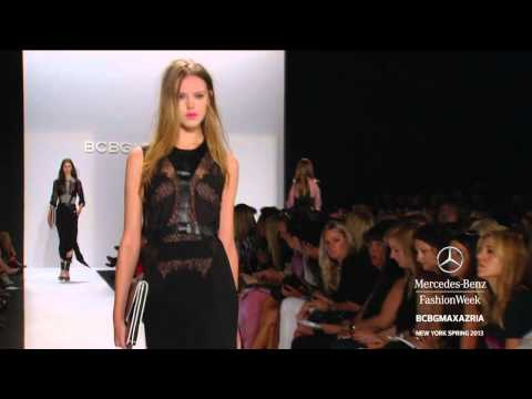 BCBGMAXAZRIA FULL COLLECTION - MERCEDES-BENZ FASHION WEEK SPRING 2013 COLLECTIONS