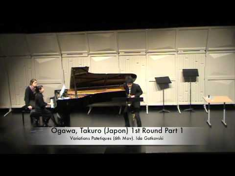 Ogawa, Takuro (Japon) 1st Round Part 1