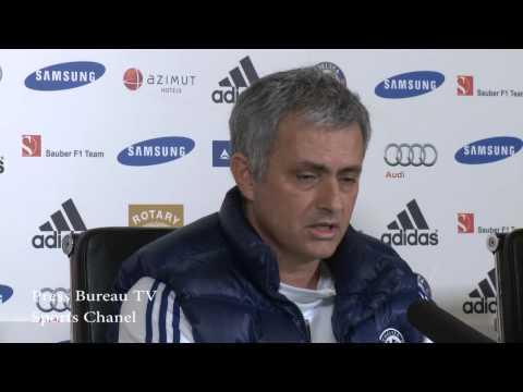Jose Mourinho pre Chelsea vs Everton