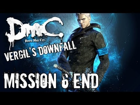 Devil May Cry - Vergil's Downfall - Mission 6 ENDING Playthrough TRUE-HD QUALITY