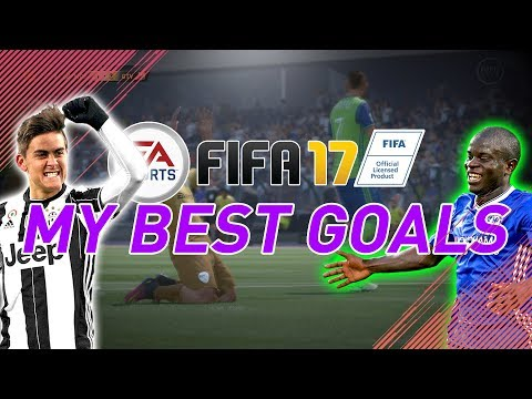 SOME OF MY BEST FIFA 17 GOALS!!🔥