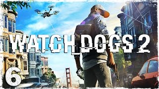 Watch Dogs 2. #6: Бешеные гонки.