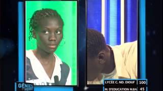 Génies en Herbe | MARIAMA BA vs Lycée Coumba Ndoffene Diouf