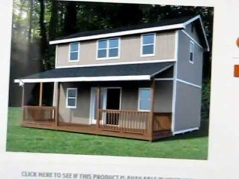 2 story mortgage free tiny house part 2 more info youtube for Cheapest 2 story house to build