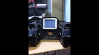 Harley Bagger Motorized Ipad 2 And Stereo Install By