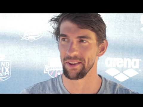 Michael Phelps is Loving 100 Freestyle - Video Interview