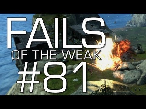 Halo: Reach - Fails of the Weak Volume 81! (Funny Halo Screw-Ups)