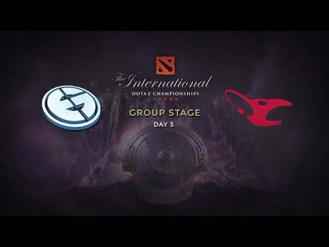 EG -vs- Mouz, The International 4, Group Stage, Day 3