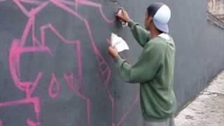 Graffiti Bombing Letters Grafite Letras Mural Dondi White