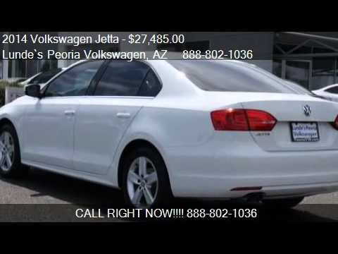 Phoenix Volkswagen | 2014 Volkswagen Jetta TDI for sale in Peoria, AZ | Sales | Service | Parts
