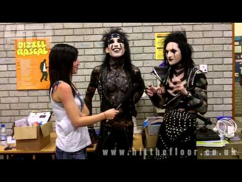 Black Veil Brides Interview - Exeter -  October 2011